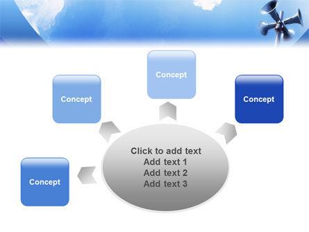 Loudspeaker PowerPoint Template Slide 7