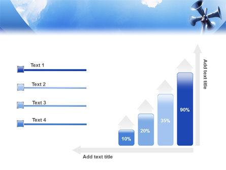 Loudspeaker PowerPoint Template Slide 8