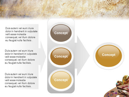Palette PowerPoint Template Slide 11