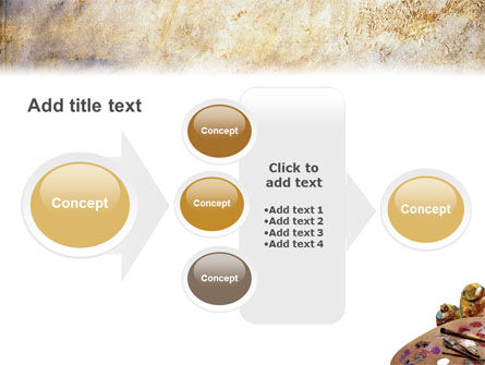 Palette PowerPoint Template Slide 17