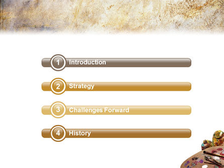 Palette PowerPoint Template, Slide 3, 02287, Art & Entertainment — PoweredTemplate.com