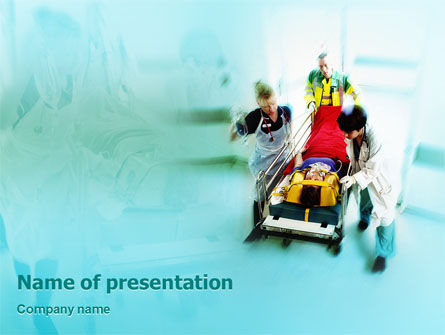 Medical: Reanimation PowerPoint Template #02288