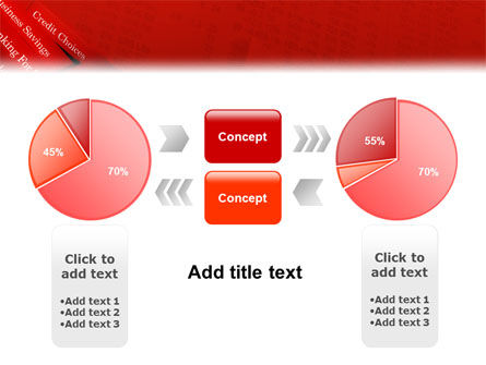 Savings and Credits PowerPoint Template Slide 11