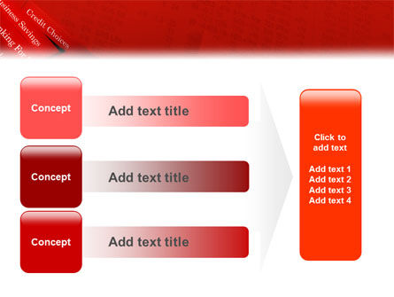 Savings and Credits PowerPoint Template Slide 12
