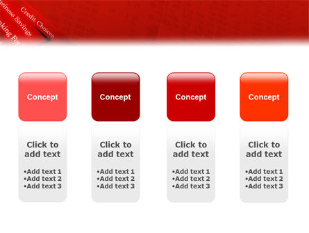 Savings and Credits PowerPoint Template Slide 5