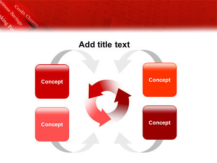 Savings and Credits PowerPoint Template Slide 6