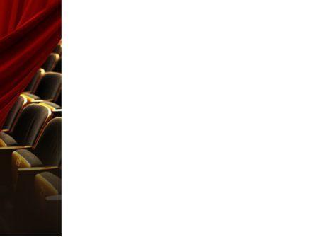 Cinema Hall PowerPoint Template, Slide 3, 02291, Art & Entertainment — PoweredTemplate.com