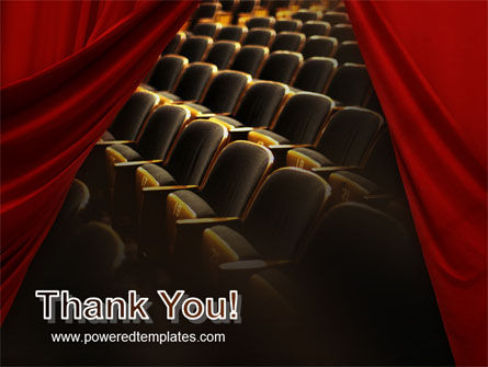 Cinema Hall PowerPoint Template Slide 20