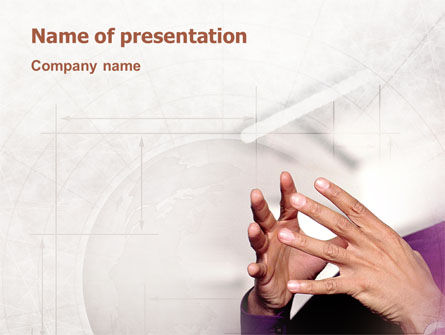 Consulting: Hands PowerPoint Template #02292