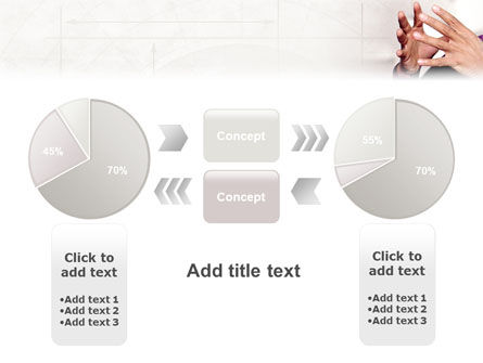 Hands PowerPoint Template Slide 11