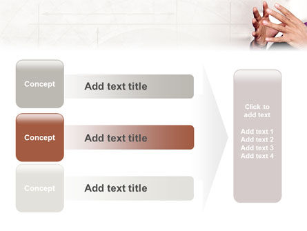 Hands PowerPoint Template Slide 12