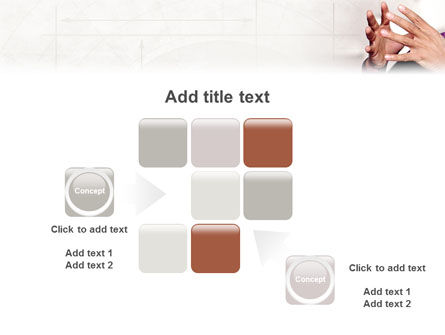 Hands PowerPoint Template Slide 16