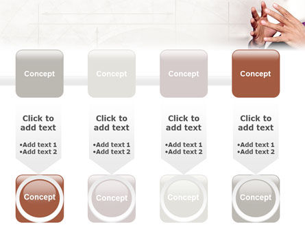Hands PowerPoint Template Slide 18
