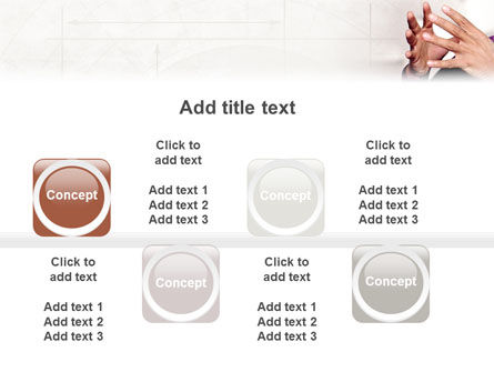 Hands PowerPoint Template Slide 19