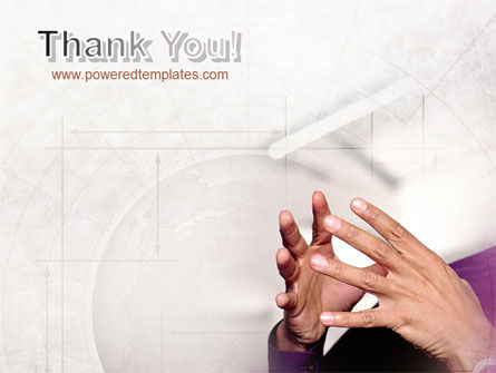 Hands PowerPoint Template Slide 20