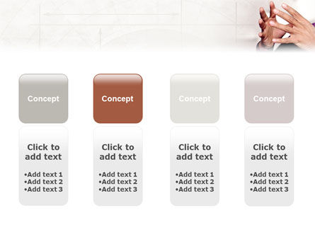 Hands PowerPoint Template Slide 5
