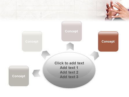 Hands PowerPoint Template Slide 7