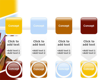 Pencil PowerPoint Template Slide 18