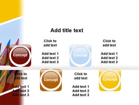 Pencil PowerPoint Template Slide 19