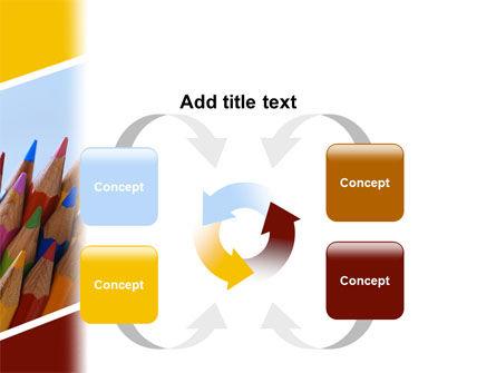 Pencil PowerPoint Template Slide 6