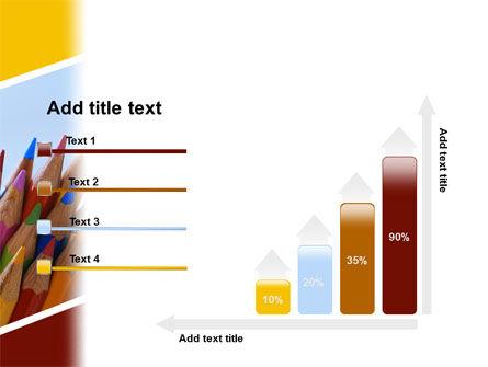 Pencil PowerPoint Template Slide 8