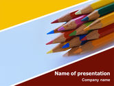 Education & Training: Pencil PowerPoint Template #02294