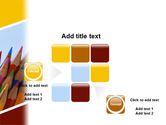 Pencil PowerPoint Template#16