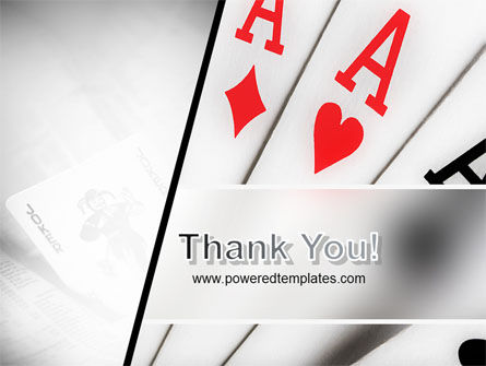 Playing Cards PowerPoint Template Slide 20