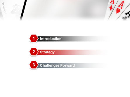 Playing Cards PowerPoint Template Slide 3