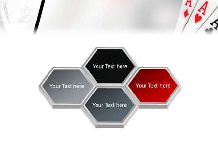 Playing Cards PowerPoint Template Slide 5