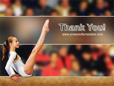 Artistic Gymnastics PowerPoint Template Slide 20