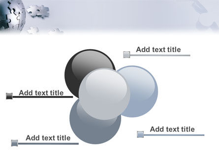 World Puzzle PowerPoint Template Slide 10