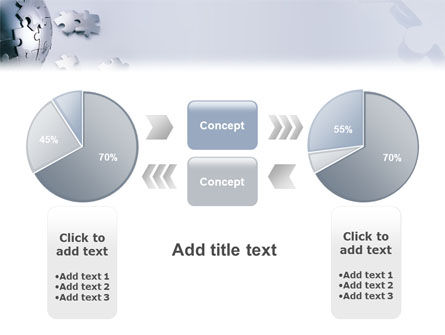 World Puzzle PowerPoint Template Slide 11
