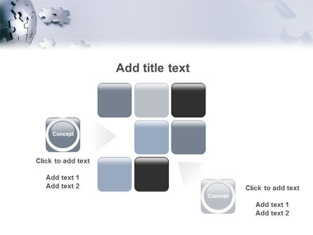 World Puzzle PowerPoint Template Slide 16