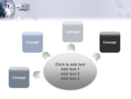World Puzzle PowerPoint Template Slide 7