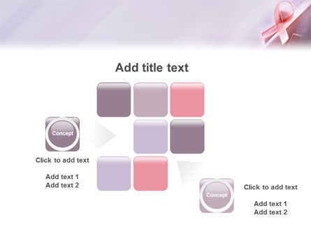 Breast cancer awareness powerpoint template backgrounds for Breast cancer ppt template
