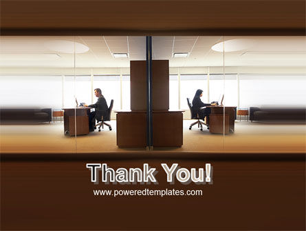 Office Space PowerPoint Template Slide 20