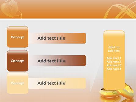 Wedding Rings PowerPoint Template Slide 12