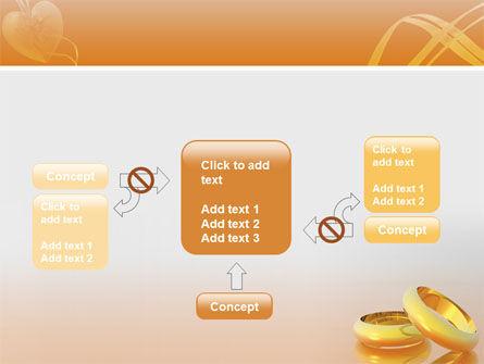 Wedding Rings PowerPoint Template Slide 13
