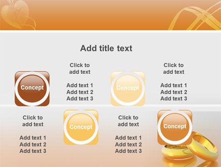 Wedding Rings PowerPoint Template Slide 19