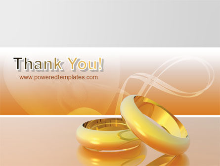 Wedding Rings PowerPoint Template Slide 20