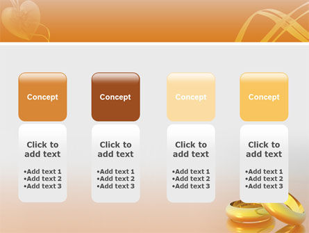 Wedding Rings PowerPoint Template Slide 5