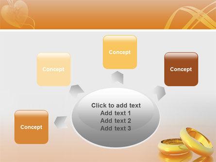 Wedding Rings PowerPoint Template Slide 7