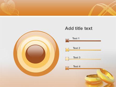 Wedding Rings PowerPoint Template Slide 9