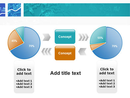Work In The Office PowerPoint Template Slide 11