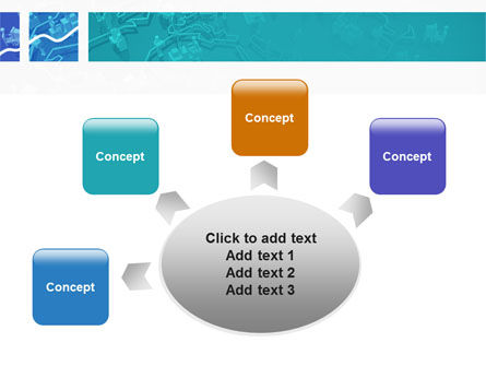 Work In The Office PowerPoint Template Slide 7
