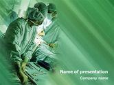 Medical: Scrub Nurse PowerPoint Template #02313