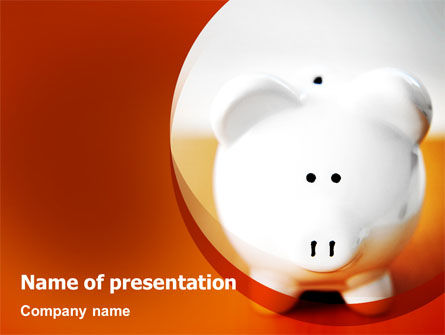 Save Money PowerPoint Template, 02316, Financial/Accounting — PoweredTemplate.com
