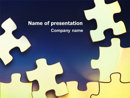 Game Puzzle PowerPoint Template