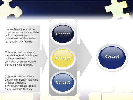 Game Puzzle PowerPoint Template Slide 11